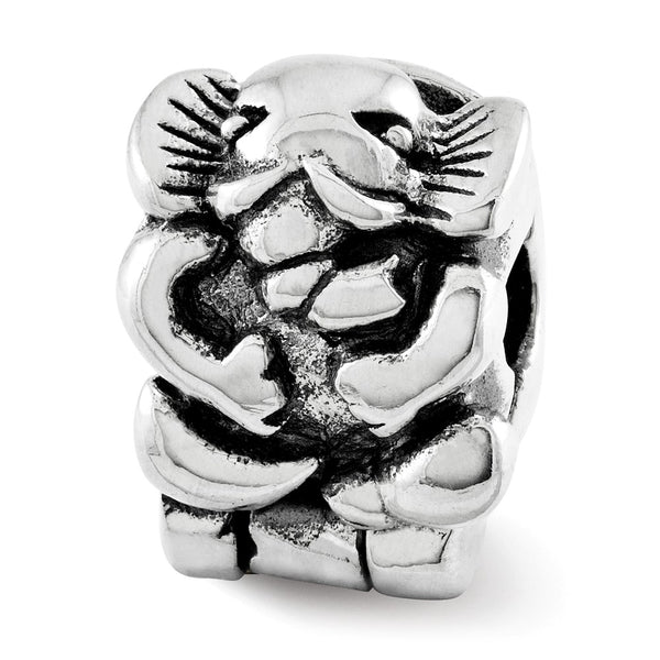 Sterling Silver Reflections Kids Elephant Clip Bead