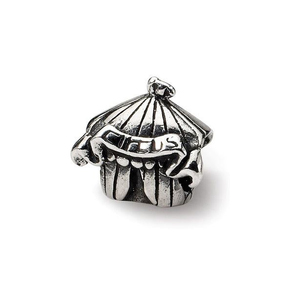 Sterling Silver Reflections Kids Circus Tent Bead