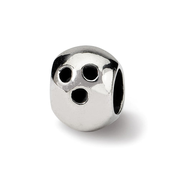 Sterling Silver Reflections Bowling Ball Bead