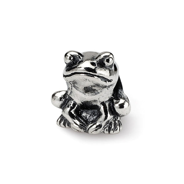 Sterling Silver Reflections Kids Frog Bead