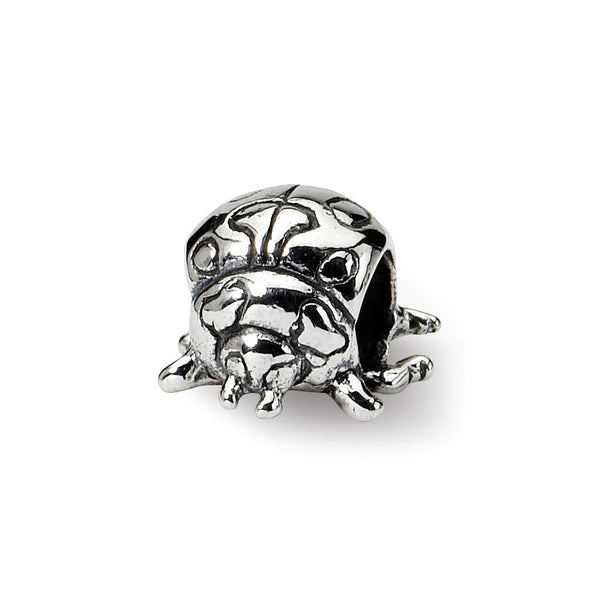 Sterling Silver Reflections Kids Ladybug Bead