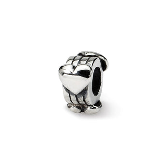 Sterling Silver Reflections Kids Hearts Bead