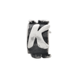 Sterling Silver Reflections Letter K Message Bead