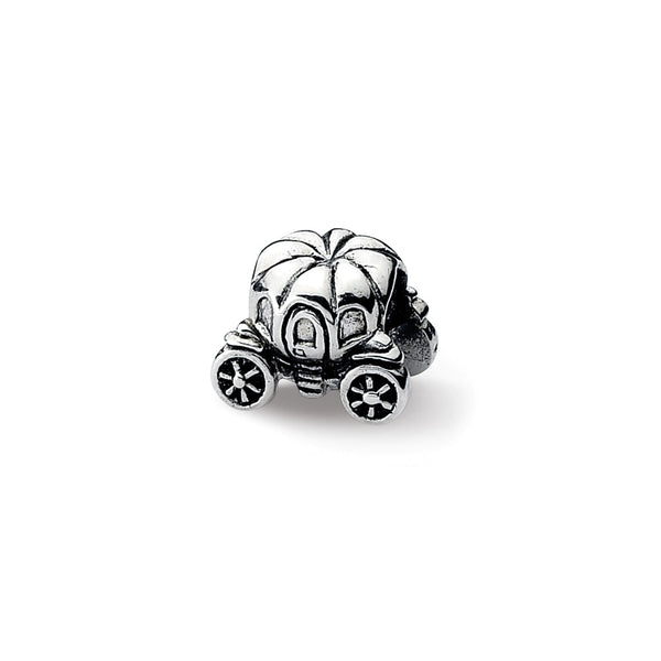 Sterling Silver Reflections Pumpkin Carriage Bead