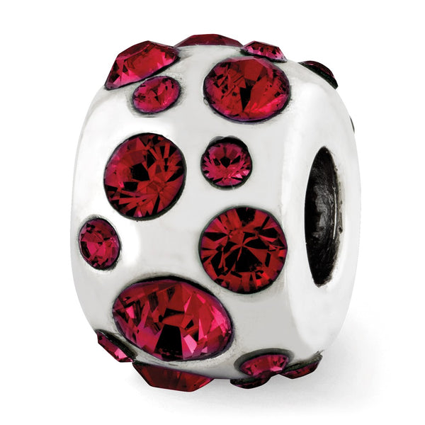 Sterling Silver Reflections July Swarovski Crystal Bead
