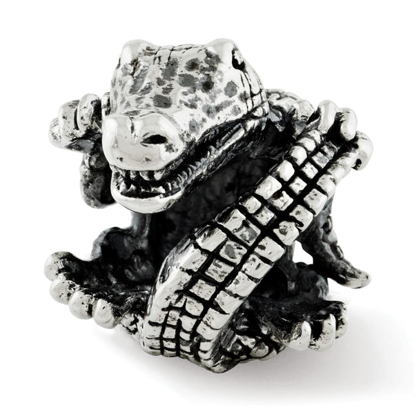 Sterling Silver Reflections Alligator Bead