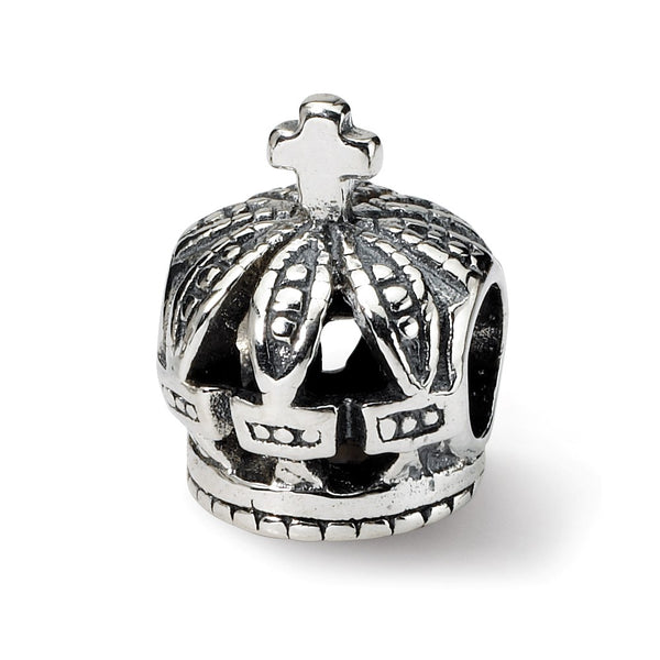 Sterling Silver Reflections Crown Bead
