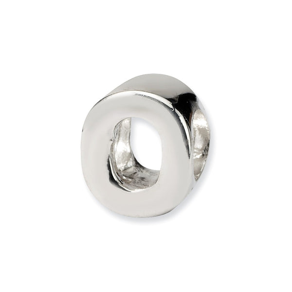 Sterling Silver Reflections Letter O Bead