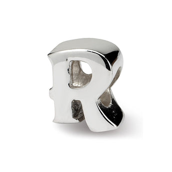 Sterling Silver Reflections Letter R Bead