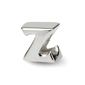 Sterling Silver Reflections Letter Z Bead