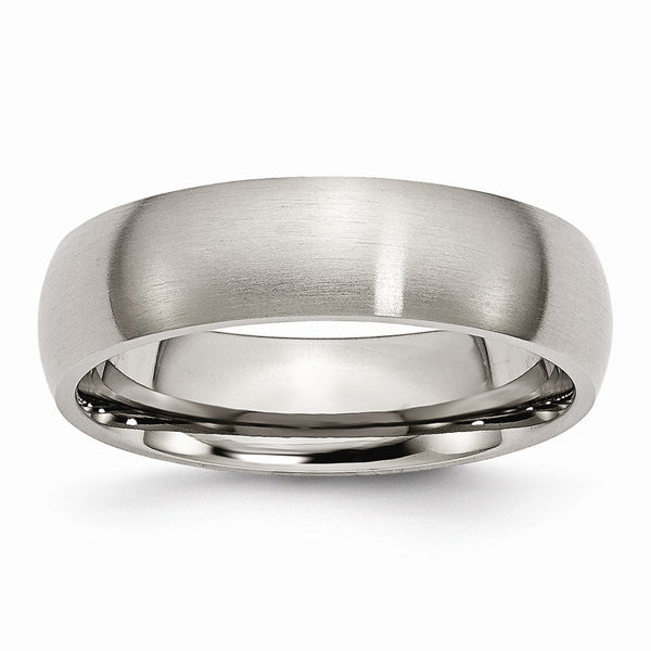 Titanium 6mm Brushed Band