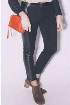 Leather Panel Pants - Cleobella