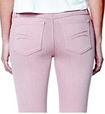 Jeans - High Rise Skinny Ankle Vintage Rose - Second Clothing Co Yoga Jeans