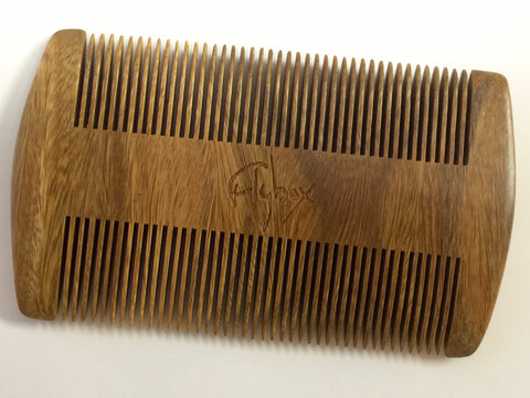 Flybox Sandalwood Beard Comb **CLEARANCE SALE!**