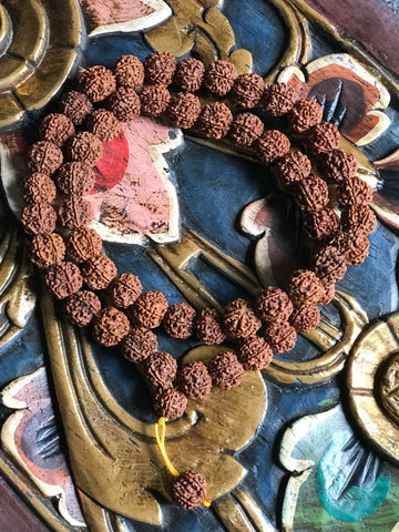 Rudraksha Mala Yoga Meditation Prayer Beads - Routes Gallery