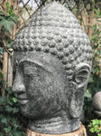 "Buddha Head Garden Statue 31"" - Routes Gallery"
