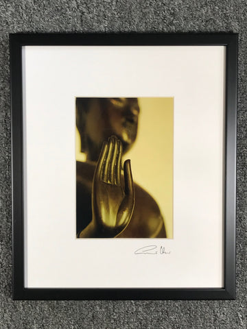 Buddha Blessing Framed Art Photo