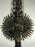Brass Avalokiteshvara with 1000 Arms Statue 26""