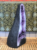 "Amethyst Quartz Crystal Cathedral Geode 20"" - Routes Gallery"