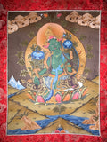 Green Tara Thangka - Routes Gallery