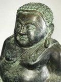 "Sangkachai Fat Happy Buddha Statue 12"" - Routes Gallery"