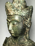 "Brass Earth Witness Royal Buddha 22"" - Routes Gallery"