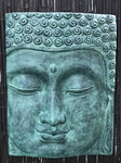 "Buddha Face Panel Relief 32"" - Routes Gallery"