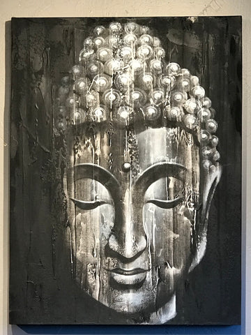 Buddha Face Painting