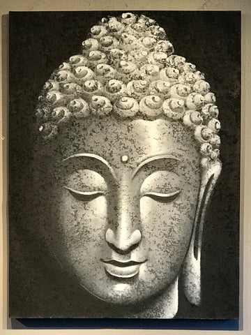 Buddha Face Painting - Routes Gallery