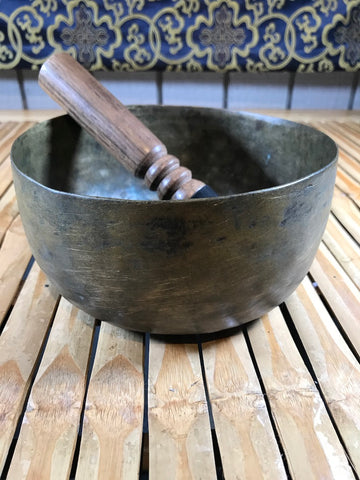 "Vintage Handmade Singing Bowl 6.5"" - Routes Gallery"