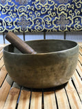 "Vintage Meditation Handmade Singing Bowl 7"" - Routes Gallery"