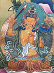 Chenrezig Thangka, Buddha of Compassion - Routes Gallery