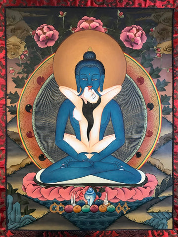 Samantbhadra Buddha Thangka - Routes Gallery