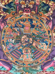 Wheel Of Life Thangka Painting - Routes Gallery