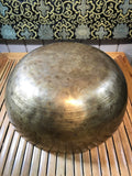 "Large Sound Therapy Handmade Singing Bowl 18"" - Routes Gallery"