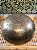 "Large Sound Therapy Handmade Singing Bowl 20.5"" - Routes Gallery"