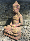 "Meditating Royal Buddha Statue 12"" - Routes Gallery"