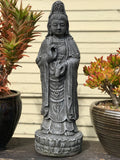 "Standing Quan Yin Garden Statue 26"" - Routes Gallery"