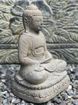 "Stone Meditating Budhha Statue 10"" - Routes Gallery"