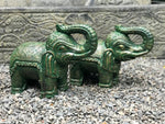 Elephant Statue with Trunk Up for Luck 14.5""