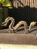 "Brass Dragon Statue 11"" - Routes Gallery"