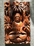 Wood Vitarka Buddha Wallhanging - Routes Gallery