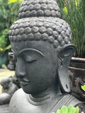 "Stone Buddha Bust Garden Statue 39"" - Routes Gallery"