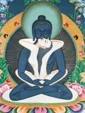 Samantabhadra Thangka Painting - Routes Gallery