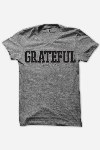 SG Grateful Kids Tee Heather Grey