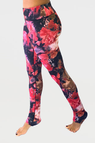 Grace Yoga Tight Enchanted Floral
