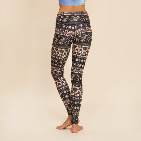 Moon Flower Hot Pant