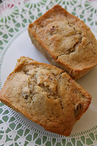 Banana Nut Mini Loaf