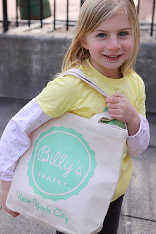 Billy's Bakery Logo Tote Bag