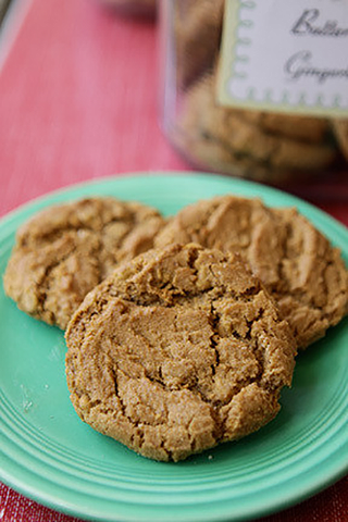 Butterscotch Gingerbread Cookie